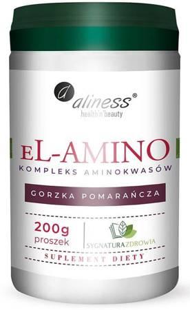 Aliness eL-AMINO Kompleks Aminokwasowy (Gorzka Pomarańcza) 200 g proszek