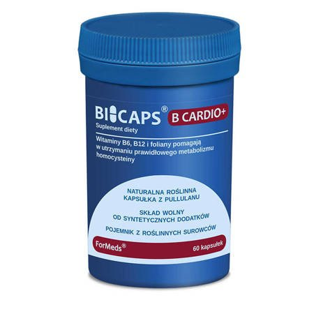 ForMeds BiCaps B Cardio+ 60 kapsułek