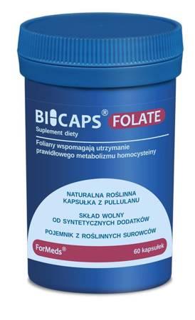 ForMeds BiCaps Kwas Foliowy Methyl Folate 500 mcg 60 kapsułek