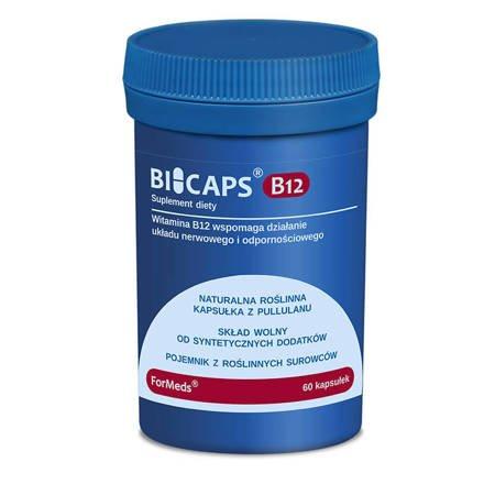 ForMeds BiCaps Witamina B12 500 mcg 60 kapsułek