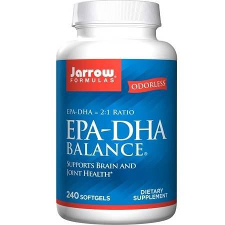 Jarrow EPA-DHA Balance 600 mg 240 kapsułek