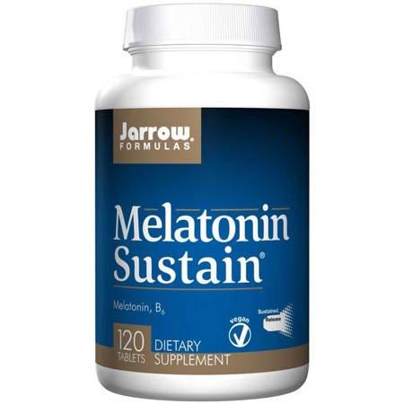 Jarrow Formulas Melatonina Sustain 1 mg 120 tabletek