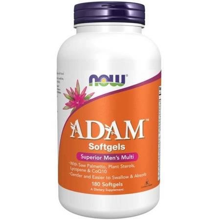 Now Foods Adam Softgels (Multiwitamina i Minerały) 180 kapsułek