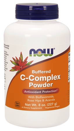 Now Foods Buforowany C Complex Puder 227 g