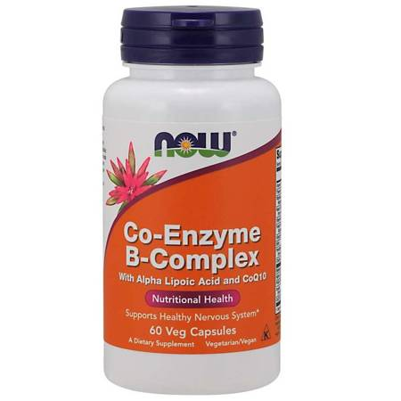 Now Foods Co-Enzyme B-Complex 60 veg kapsułek