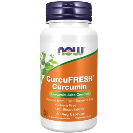 Now Foods CurcuFRESH Curcumin 60 veg kapsułek
