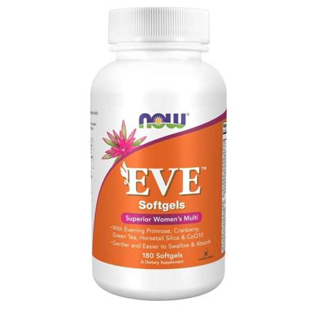 Now Foods Eve Softgels (Multiwitamina i Minerały) 180 kapsułek