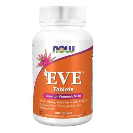 Now Foods Eve Tablets (Multiwitamina i Minerały) 180 tabletek