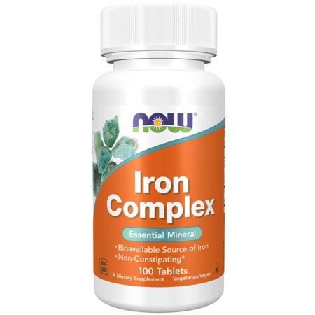 Now Foods Iron Complex 100 tabletek