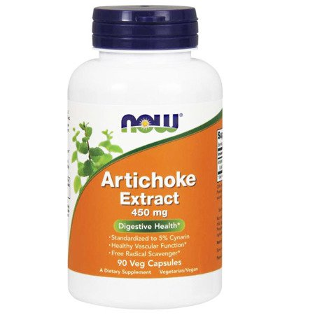 Now Foods Karczoch (Artichoke) Extract 450 mg 90 kapsułek