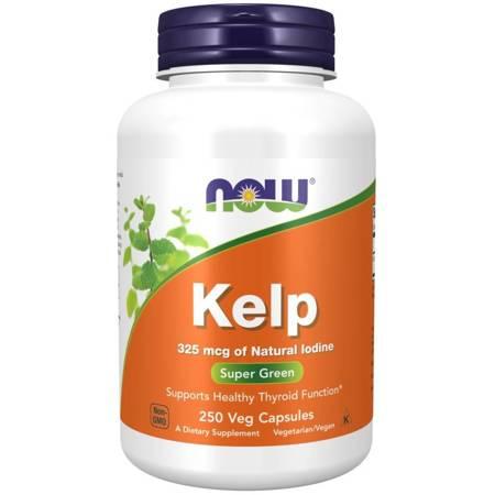Now Foods Kelp (Jod) 250 kapsułek