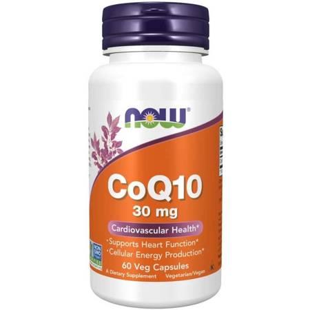 Now Foods Koenzym Q10 30 mg 60 kapsułek