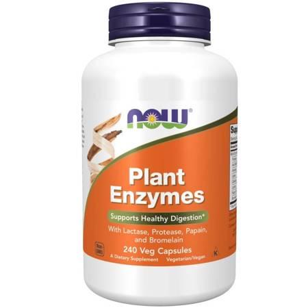 Now Foods Plant Enzymes 240 kapsułek