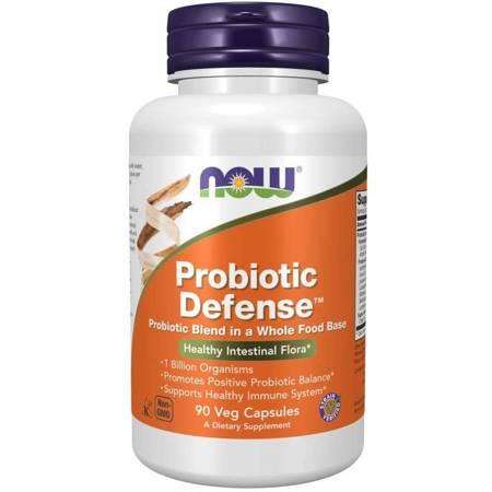 Now Foods Probiotic Defense 90 kapsułek