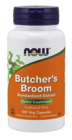 Now Foods Ruszczyk (Butcher's Broom) 100 kapsułek