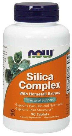 Now Foods Silica Complex 90 tabletek