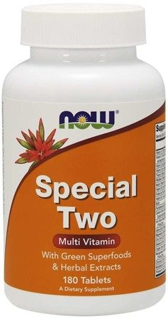 Now Foods Special Two Tablets 180 tabletek