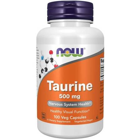 Now Foods Tauryna 500 mg 100 kapsułek