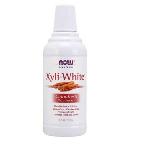 Now Foods XyliWhite Cinnafresh 473 ml płyn do płukania ust