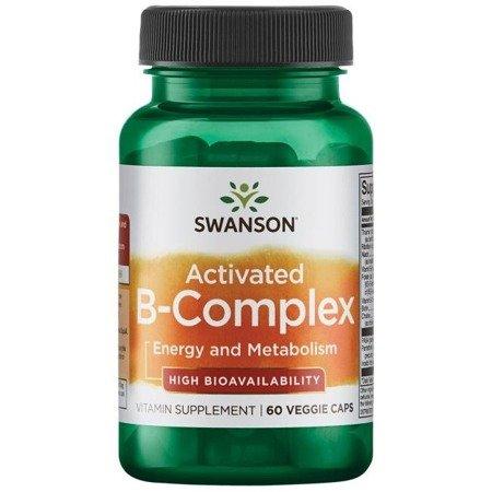 Swanson Aktywowany B Complex 60 kapsułek