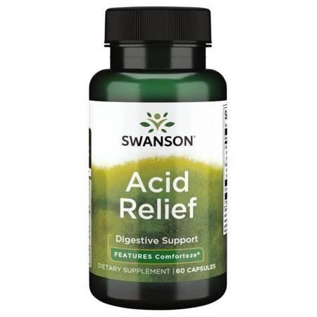 Swanson All-Natural Acid Relief 700 mg 60 kapsułek