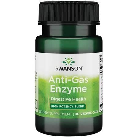 Swanson Anti-Gas Enzyme 123 mg 90 kapsułek