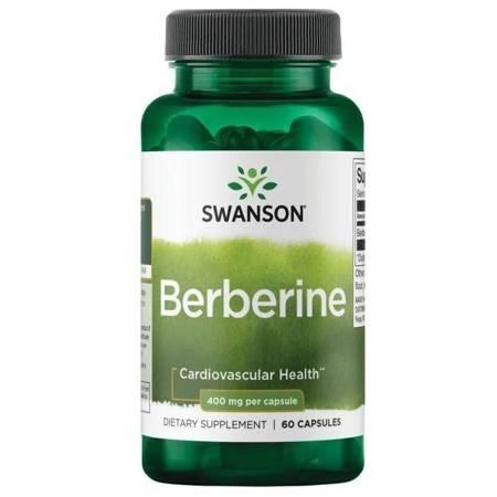Swanson Berberyna 400 mg 60 kapsułek