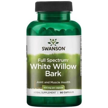 Swanson Biała Wierzba (White Willow) 400 mg 90 kapsułek