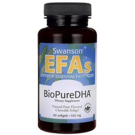 Swanson BioPure DHA 550 mg 60 kapsułek