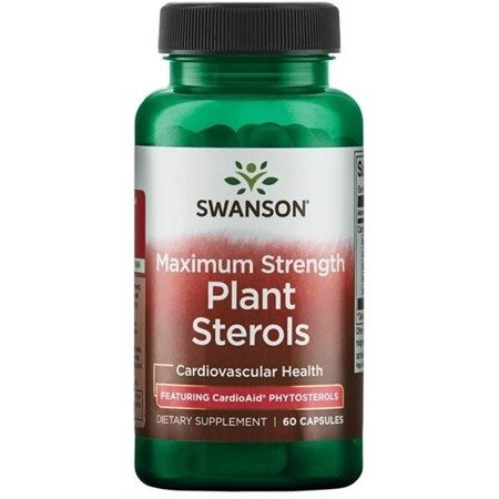 Swanson CardioAid Beta-Sitosterol 60 kapsułek