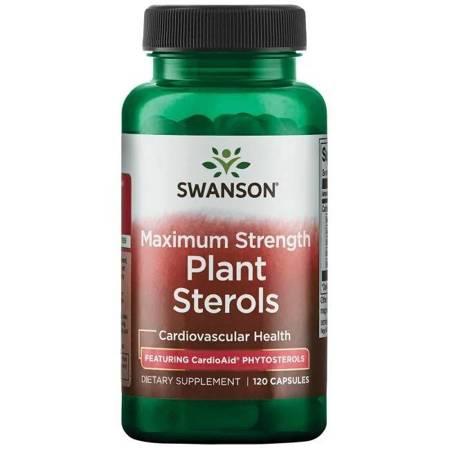 Swanson CardioAid Plant Sterols 120 kapsułek