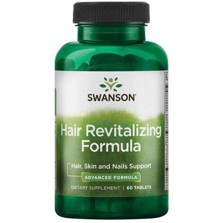 Swanson Formuła Rewitalizująca Włosy 60 tabletek