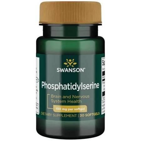 Swanson Fosfatydyloseryna 100 mg 30 kapsułek