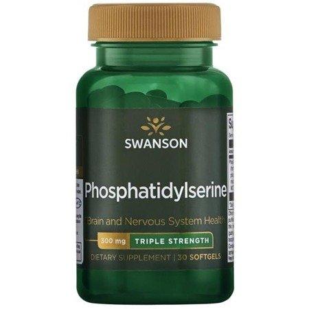 Swanson Fosfatydyloseryna 300 mg 30 kapsułek