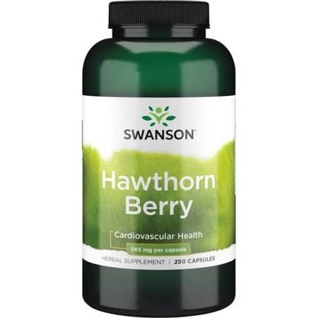 Swanson Głóg (Hawthorn) 565 mg 250 kapsułek