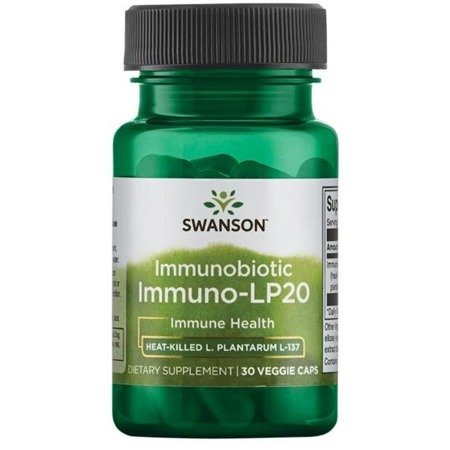 Swanson Immuno-LP20 Probiotyk Immunobiotic 50 mg 30 vega kapsułek