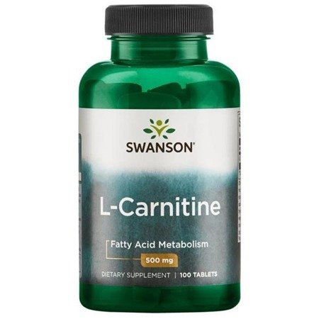 Swanson L-Karnityna 500 mg 100 tabletek