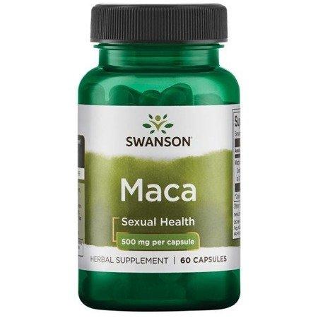 Swanson Maca Extract 500 mg 60 kapsułek