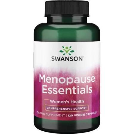 Swanson Menopause Essentials 120 kapsułek