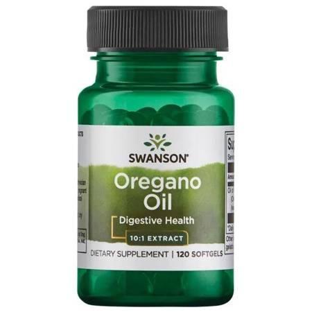 Swanson Olej z Oregano 150 mg 120 kapsułek