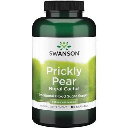 Swanson Opuncja (Opuntia) 650 mg 180 kapsułek