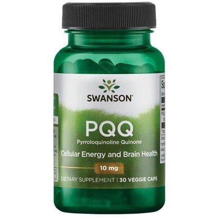 Swanson PQQ (Pyrroloquinoline Quinone) 10 mg 30 kapsułek