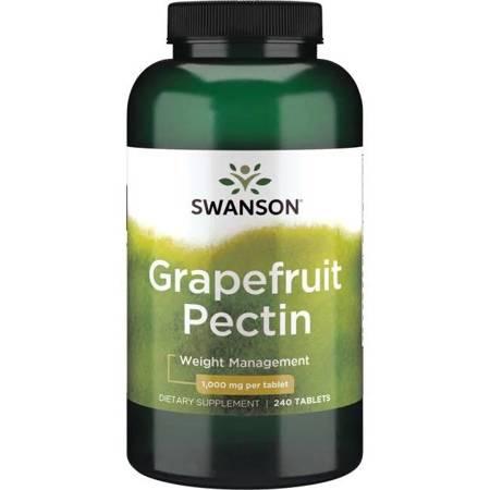 Swanson Pektyny Grapefruita 1000 mg 240 tabletek