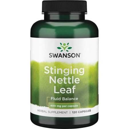 Swanson Pokrzywa (Nettle) 400 mg 120 kapsułek