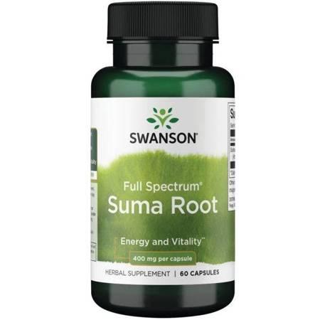 Swanson Żeń-szeń Brazylijski (Suma) 400 mg 60 kapsułek